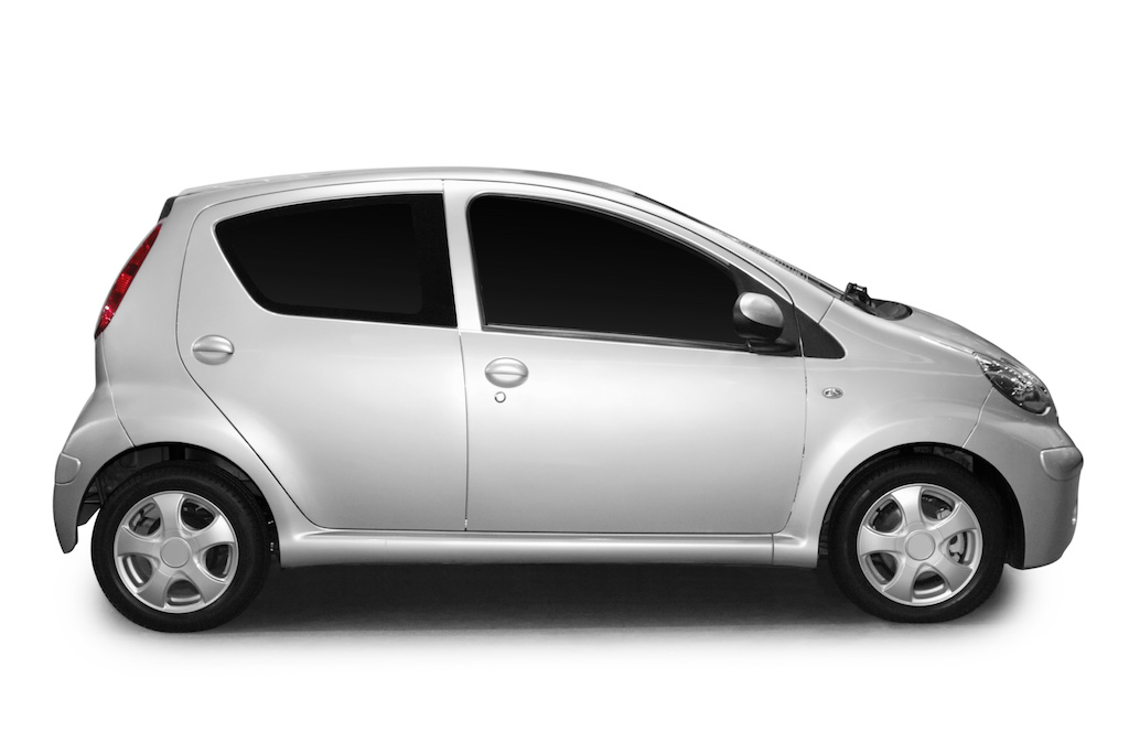 Car isolated on a white background